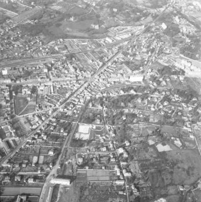Vue aérienne de Tassin-la-Demi-Lune et Champvert