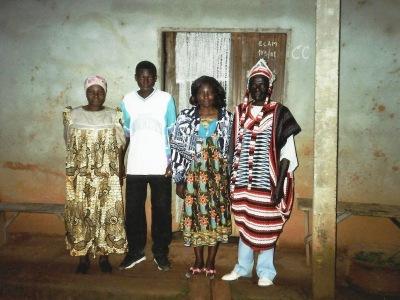 famille au quartier Mokolo