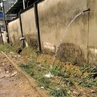 eau du mur